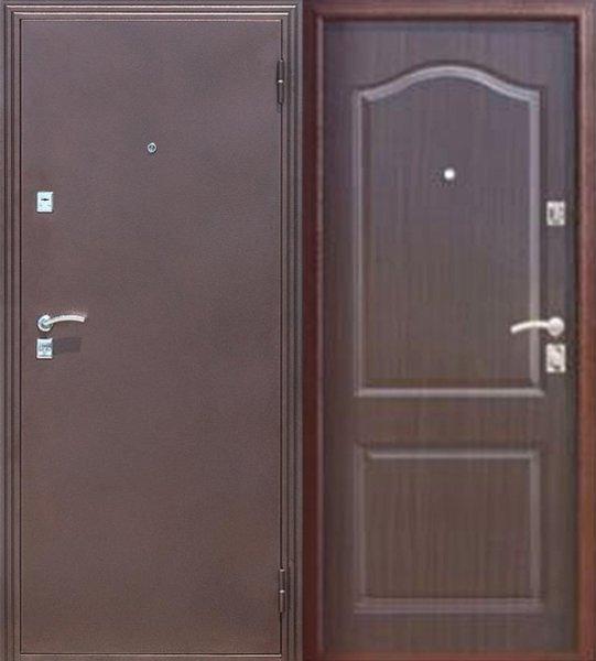 двери металлические входные стальнов