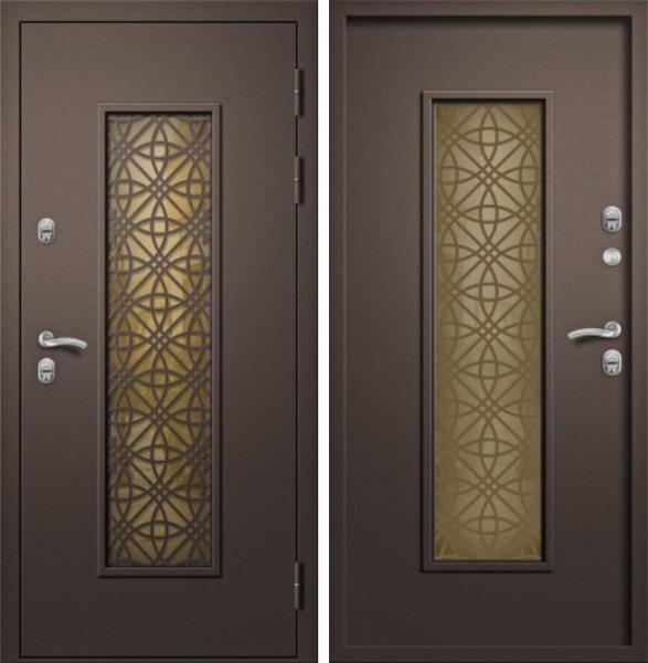 входная дверь алмаз изумруд термо